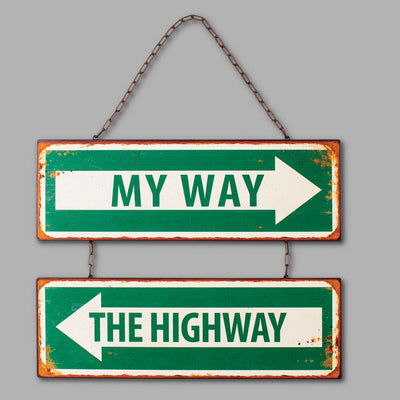 My Way Sign