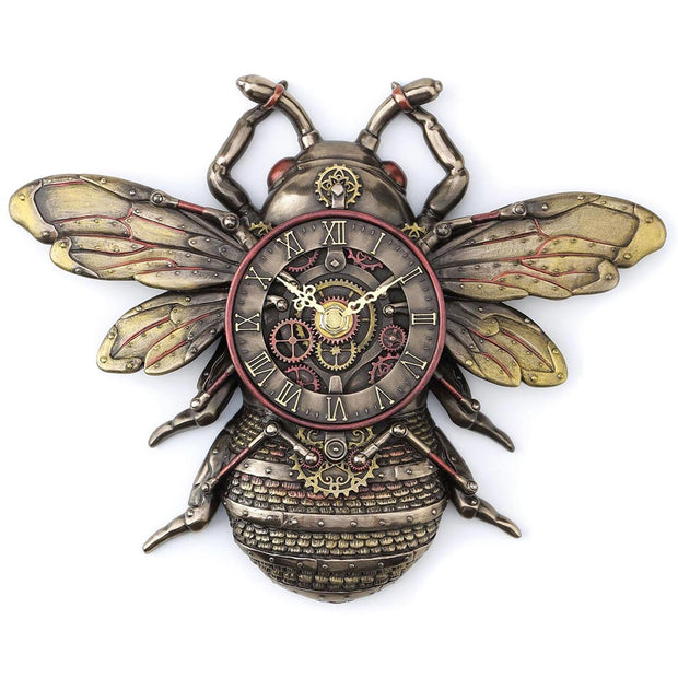 Steampunk Bee Clock