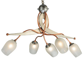 "2nd Ave. Lighting 30""L Ballerina 5 LT Chandelier 200270-2"