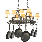 Pot Rack - 2nd Ave. Lighting Pot Rack, Cookware, 2nd Ave. Lighting, 87240.27