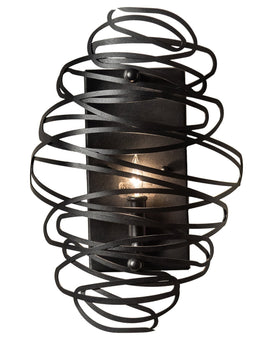 "Wall Sconce - 2nd Ave. Lighting 10"" Wide Cyclone Wall Sconce 34927-1501"