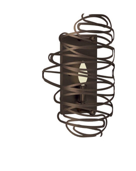 "Wall Sconce - 2nd Ave. Lighting 10"" Wide Cyclone Wall Sconce 34927-1501-47"