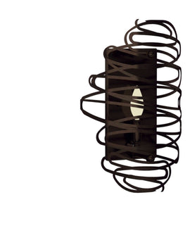 "Wall Sconce - 2nd Ave. Lighting 10"" Wide Cyclone Wall Sconce 34927-1501-94"