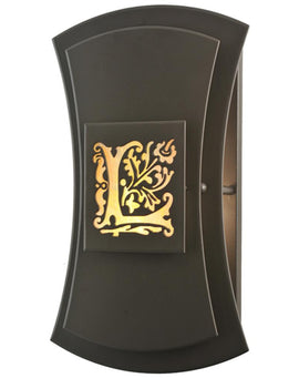 "Wall Sconce - 2nd Ave. Lighting 12""W Personalized Legacy Point Ranch Wall Sconce 1-0185224306-47"