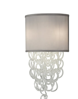 "Wall Sconce - 2nd Ave. Lighting 15""W Lucy Wall Sconce 04.1484.15.X"