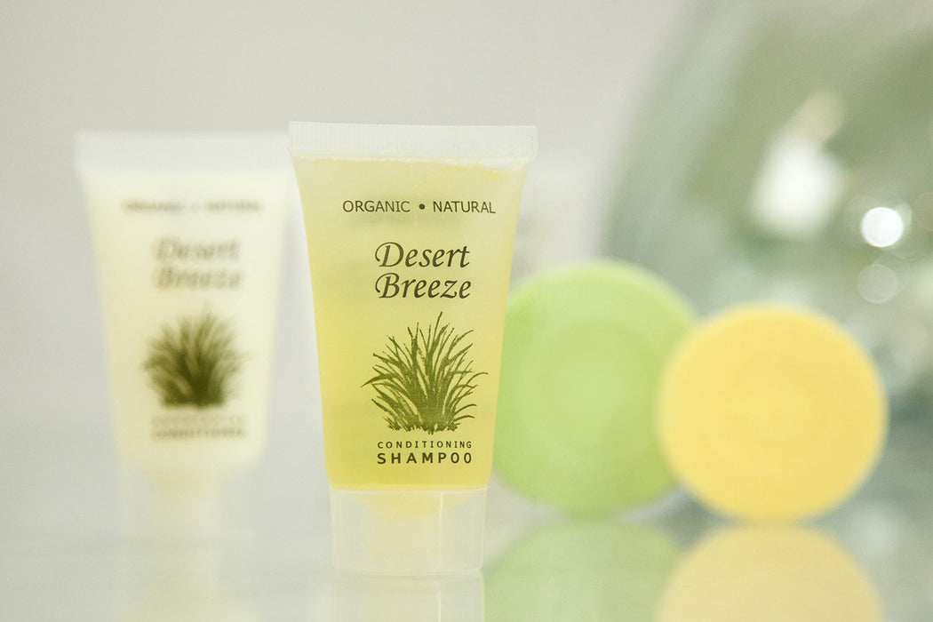 Hotel wholesale conditioner. Desert Breeze collection. 1 oz, 30 ml. Tube. 300 Items pack, 0.39 USD per item