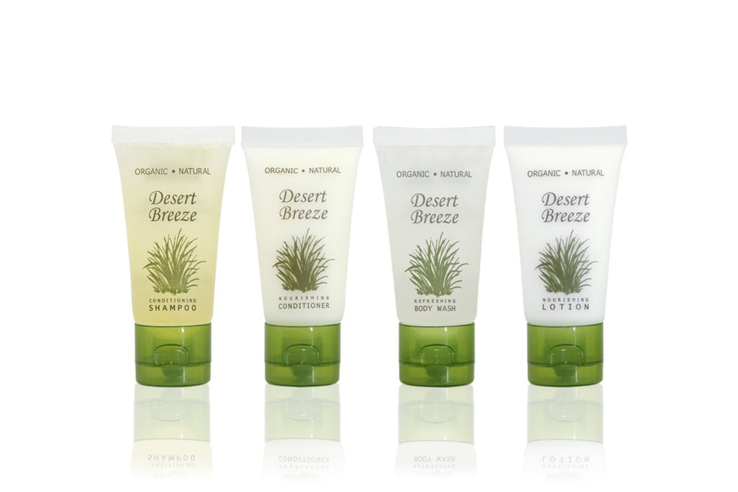 Hotel wholesale body wash. Desert Breeze collection. 1 oz, 30 ml. Tube. 300 Items pack, 0.39 USD per item
