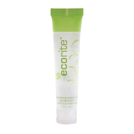Hotel 2 in 1 shampoo and conditioner. Ecorite collection. 288 items pack