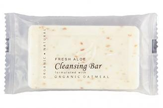 Hotel wholesale facial soap bar. Island Spa collection. 1.25 oz, 35 g sachet. 300 Items pack, 0.38 USD per item