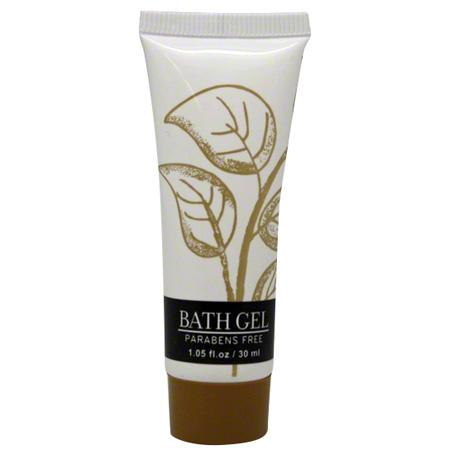 Hotel bath shower gel, Leaves collection, 1 oz/30ml. tube 300 items pack