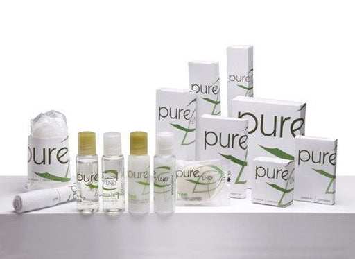 Hotel shampoo. Pure collection, 1.18 oz/35ml. bottle 240 items pack, 0.292 USD per item