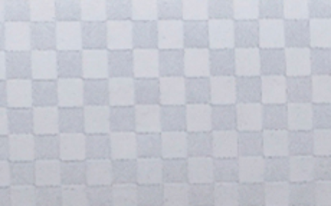 Polyester checker white shower curtains pattern