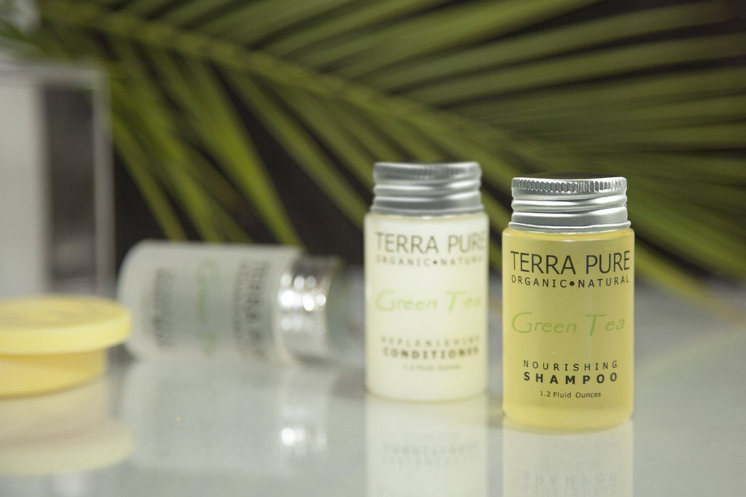 Hotel-facial-soap-Terra-Pure-green-tea-collection