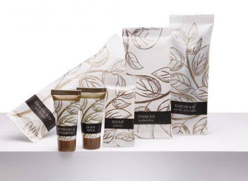 Hotel bath body lotion, Leaves collection, 1 oz/30ml. tube 300 items pack