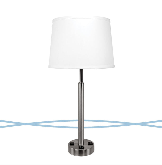 Hotel double nightstand lamp from cosmo collection