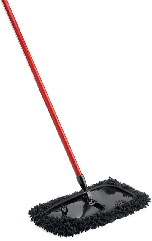 Large dust mop. Cleaning supplies