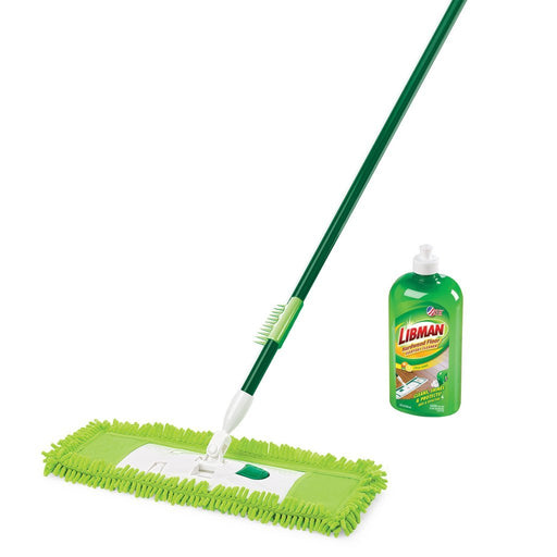 Microfiber dust mop. Cleaning equipment