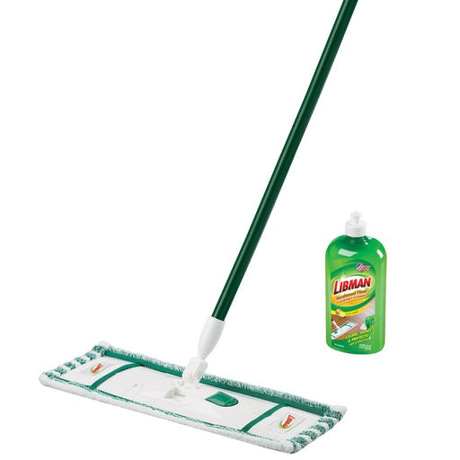 Hotel cleaning supplies and equipment. Microfiber mop.