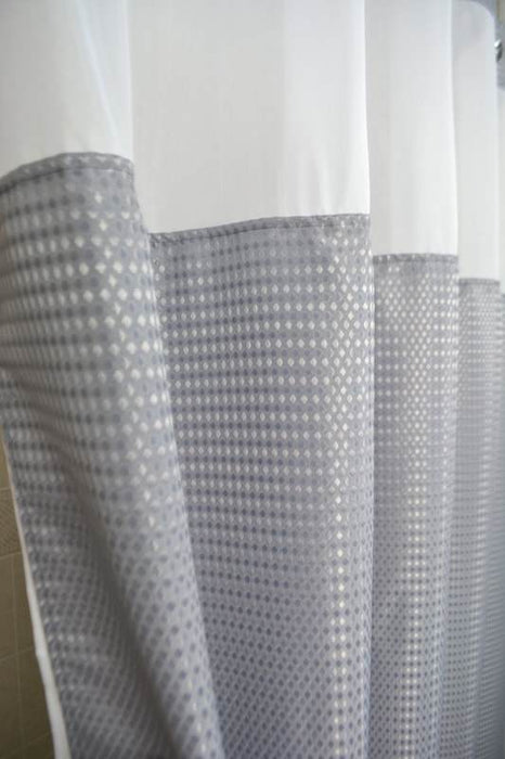Vintage shower curtains for hotels