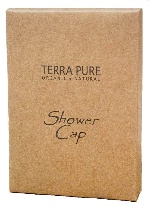 Hotel shower cap. Terra Pure green tea collection, box. 500 Items pack, 0.24 USD per item
