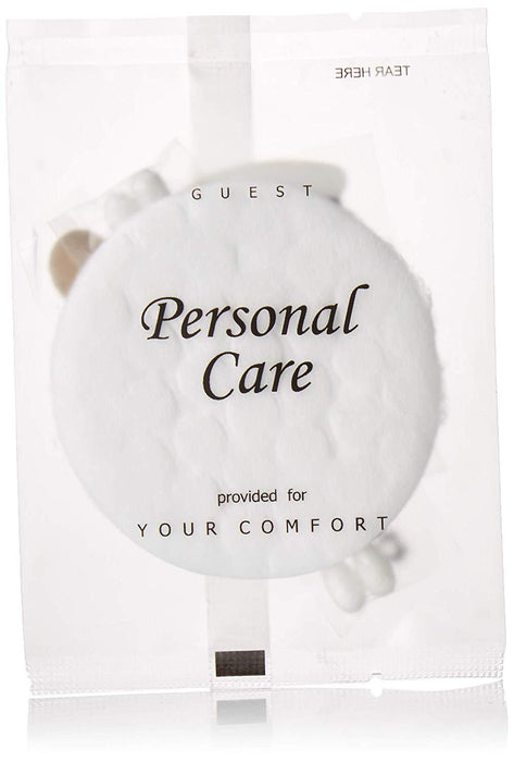 Hotel personal care kit. Swabs, cotton, nail file. Terra therapy-collection. Boxed, 300 items pack, 0.26 USD per item