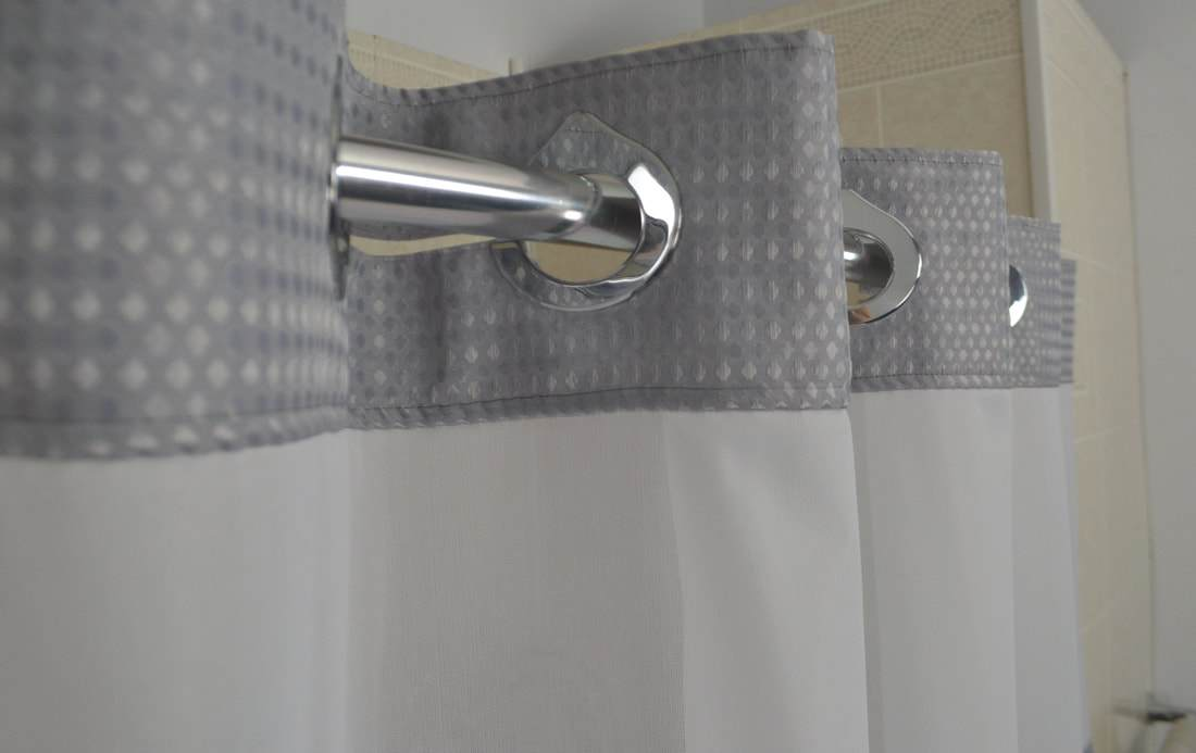 Vintage shower curtains in bulk