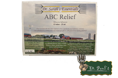 ABC Relief Syringes (Dr. Sarah's Essentials)