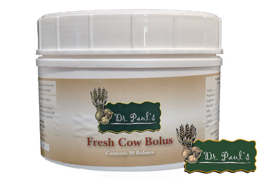 Fresh Cow Bolus (Dr. Paul's Lab)