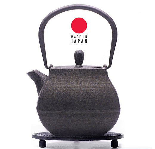 Short history of Japanese iron kettles & teapots
