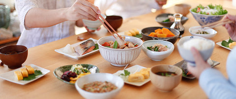 Japanese tableware and dinnerware