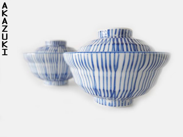 Shima Donburi bowls with lid