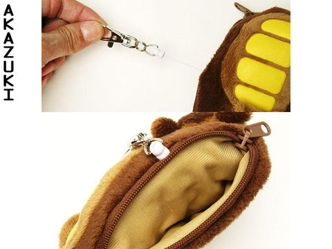 Catbus wallet card holder