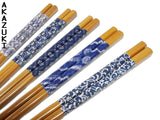 Aizome chopsticks set
