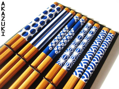 Waka chopsticks set - Akazuki  - 1