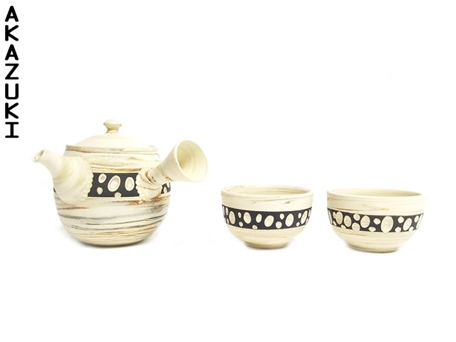 Shiromaru tokoname tea set