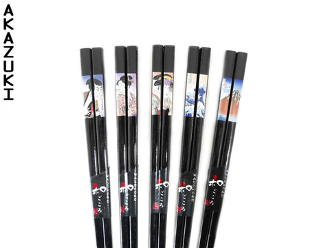Ukiyoe chopsticks set