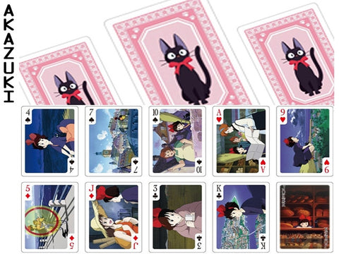 Kiki playing cards