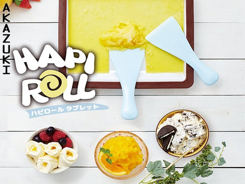 Ice cream roller plate