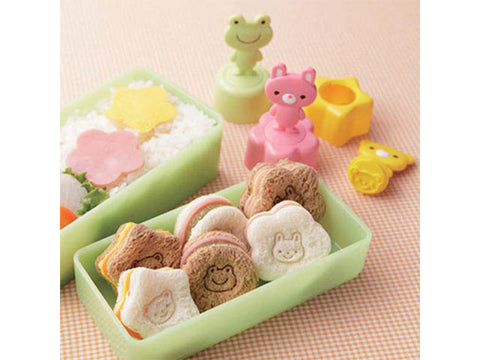 "Bread Cutter Set ""Animal Stamp"" - Akazuki  - 1"