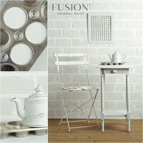 Lamp White Fusion Mineral Paint Tester