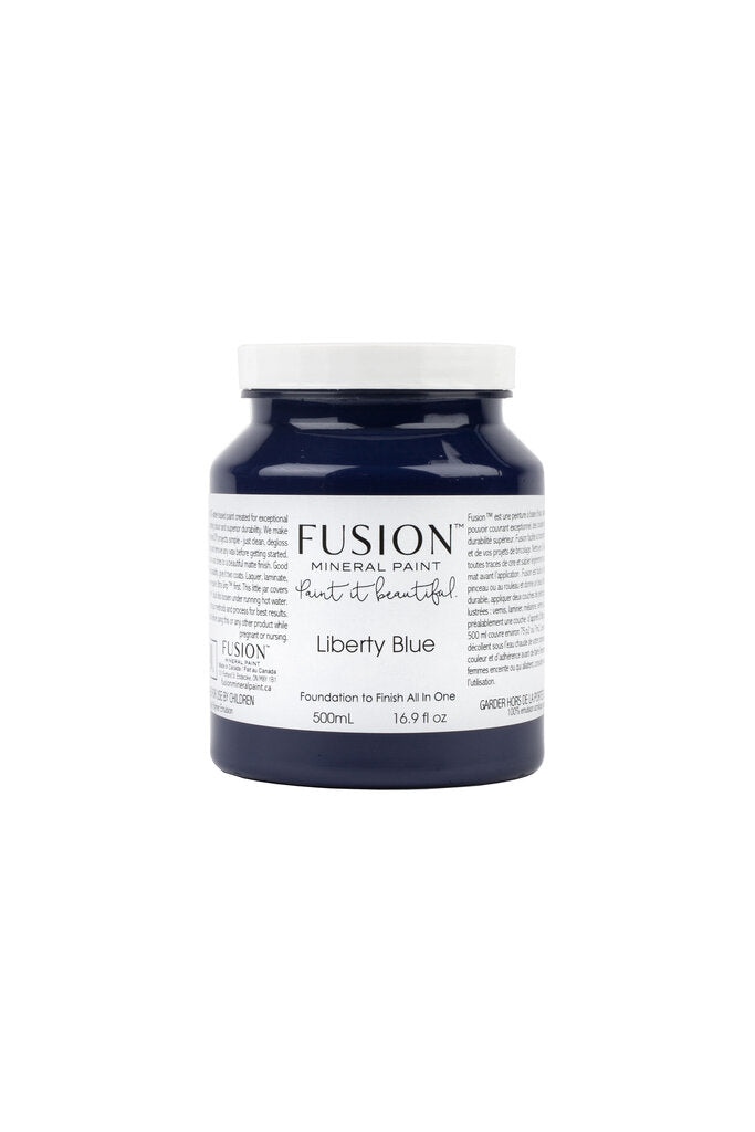 Liberty Blue Fusion Mineral Paint - Pint