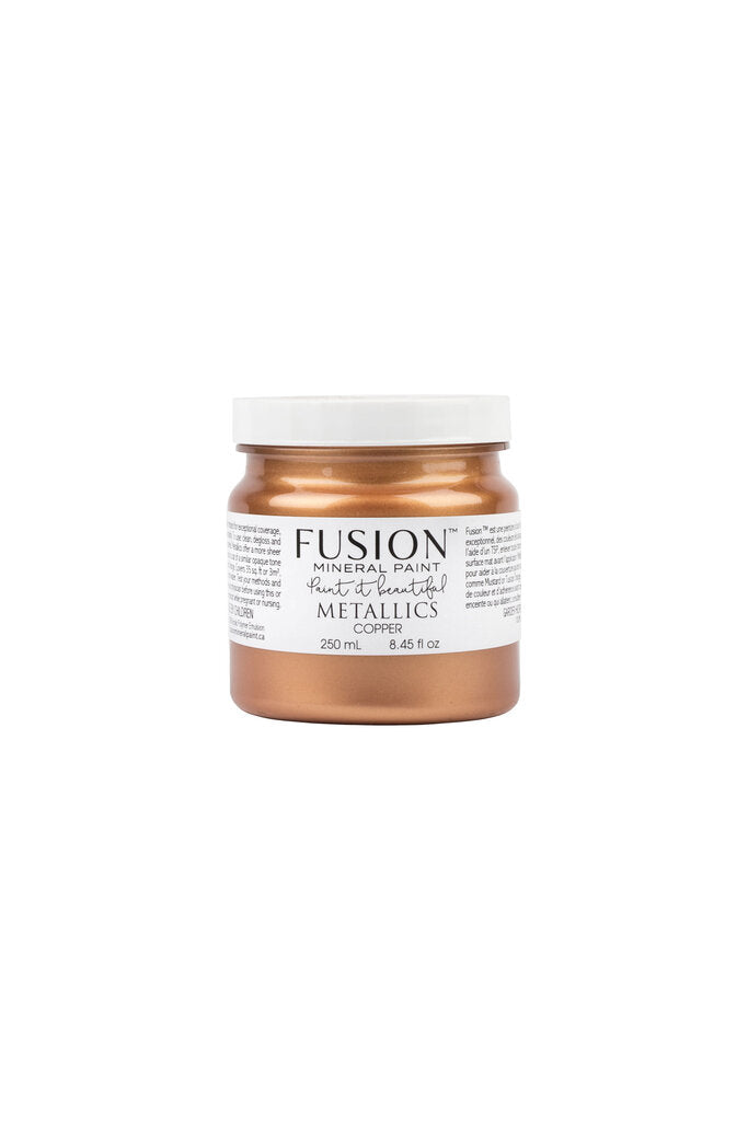 Copper Metallic Fusion Mineral Paint - 250mL