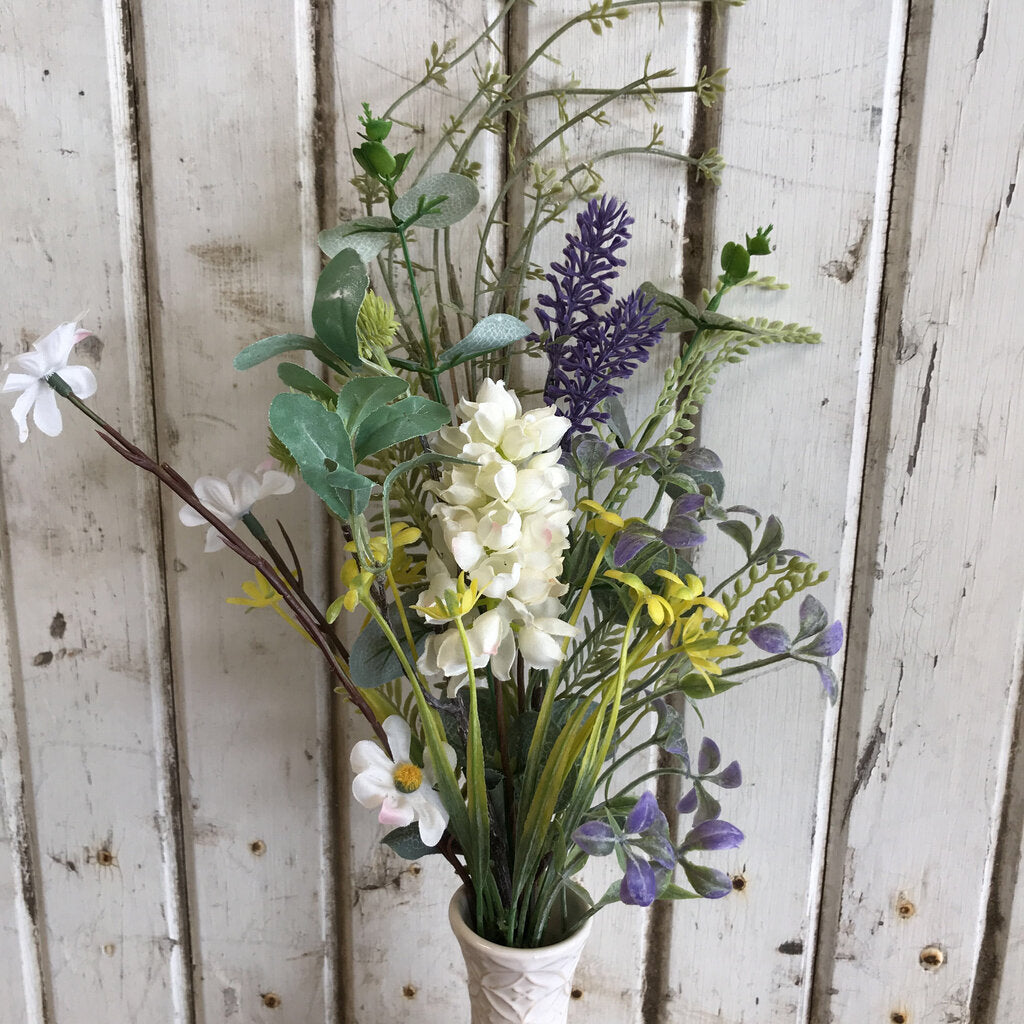 Branch - Lavender and White Wildflower Mixture