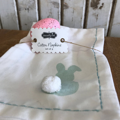 Bunny Cloth Napkin Set