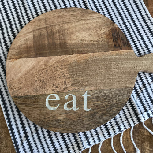 Cutting Board - Eat  12x15.5