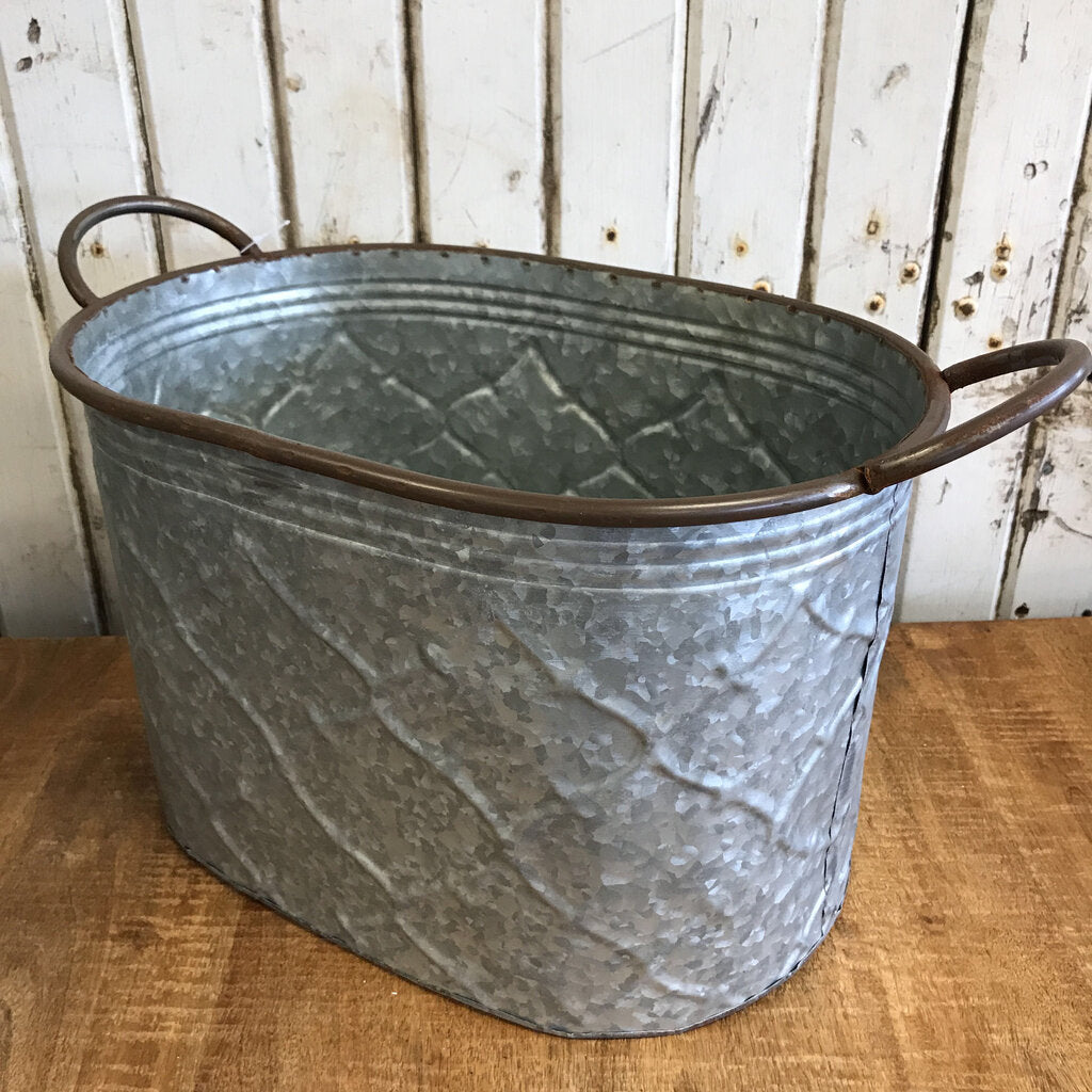 Metal Bucket - Small 16x9