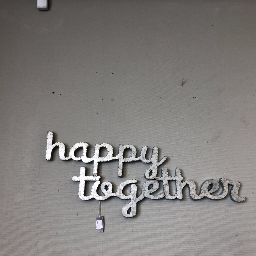 Happy Together Sign  40x17