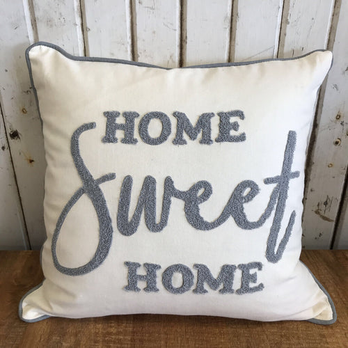 Pillow - Home Sweet Home 17x17