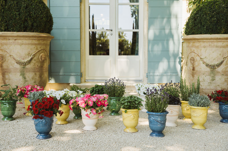 Anduze Pot in French Blue