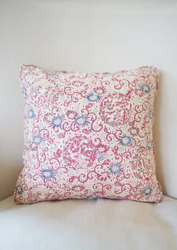 Red Butterfly Pillow